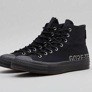 Converse Chuck 70 Hi Black Gortex Sneaker Size 8